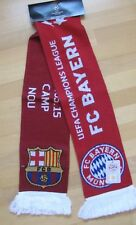 Schal FC Bayern München vs. FC Barcelona Championsleague HF 2015 OVP