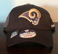 Authentic Reebok NFL Equipment Saint Louis Los Angeles Rams Baseball Hat Cap NEW