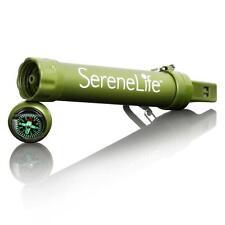 Serene-Life SLWFS10 Survival Water Filter Straw - Outdoor Pocket Water Purifier