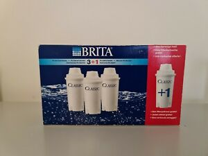 Brita Classic Water Filters Pack of 3+1 - New & Sealed