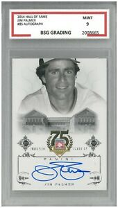 2014 Hall Of Fame JIM PALMER #85 Autograph ~ BSG 9