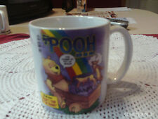 DISNEY POOH I'VE FOUND MY POT OF GOLD COFFEE MUG POOH'S TRIP TO THE BANK 16 OZ