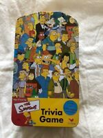 NEW The Simpsons Trivia Game 2003 Vintage