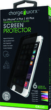 Chargeworx CX6040 IPHONE 6+/6S+ Screen Protector Privacy TemperedGlass