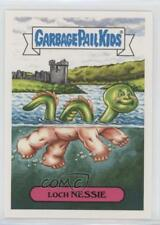 2018 Topps Garbage Pail Kids Oh the Horror-ible Loch Nessie #5a 2u6