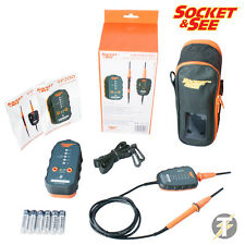 Socket & See VIP PRO Two Pole Voltage Tester & SP200 Proving Unit + Case Kit