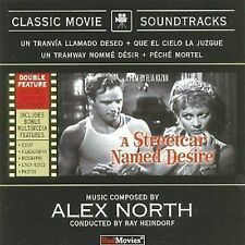 A Streetcar Named Desire/Leave Her To Heaven Film Soundtrack CD NEW SEALED