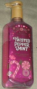 2-Bath & Body Works 'Twisted Peppermint' Deep Cleansing Hand Soap  8 fl.oz.