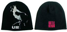 Official U2 Rattle and Hum Beanie Hat Winter Cap (1 hat, design on both sides)