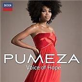 PUMEZA VOICE OF HOPE CD Album EX/MINT/MINT *