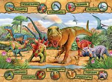 NEW! Ravensburger Dinosaurs 100 piece jigsaw puzzle Age 6+ 10609