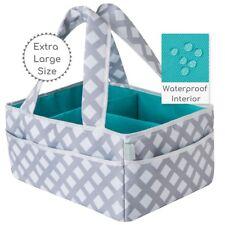 Baby Diaper Caddy Organizer Extra Large | Nursery Storage | Changing Table Bin