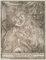 J.DANNHAUS, Maria-Hilf Gnadenbild, Madonna mit dem Kind, 1779, Holzschnitt
