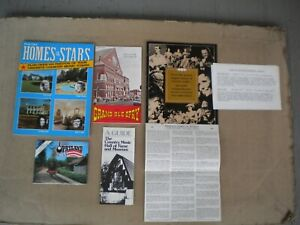Vintage 1974-75 Country Music Homes of Stars, Museum, Grand Ole Opry, Nashville
