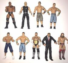WWE JAXX Lot Of 9 Wrestling Figures Mattel 2000 2010 2011 2012 2013