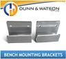 Aluminium Clip On Bench Mounting Brackets (4x4, 4wd, Ute, Canopy, Tray)