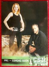 CSI - Las Vegas - Season Three - Promo Card PR1 - Strictly Ink 2005