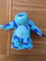 Disneyland Paris Sulley Small Soft Toy Monsters Inc University