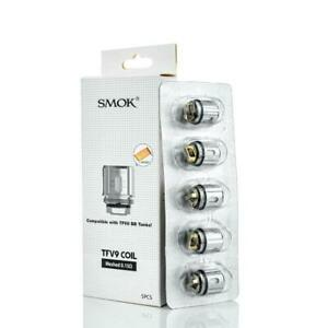 Smok TFV9 Meshed Coils | 0.15ohm Mesh | Pack of 5x Genuine Replacement Coils