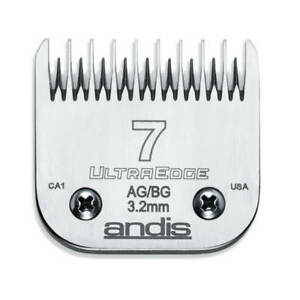 Andis UltraEdge Detachable Blade, Size 7 - Leaves 3.2mm Fits Andis, Oster, Wahl,