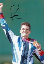 Peter Wilson Firmada A Mano 12x8 Foto Juegos Olímpicos de Londres 2012 Oro Medalla ganador.