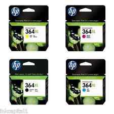 4 x HP Original 364XL Original OEM Patronen CN684EE,CB323EE,CB324EE,CB325EE