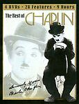 The Best Of Charlie Chaplin 4 DVD's 7 Features Vagabond Tramp Adventurer Fireman