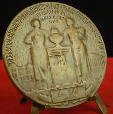 Médaille Raymond Pointcarré Président Lamourdedieu Medal 铜牌 député André Lefèvre