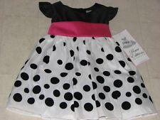 Rare Editions Polkadot Party Dress Girls Multicolor SZ 3-6M - NWT $58