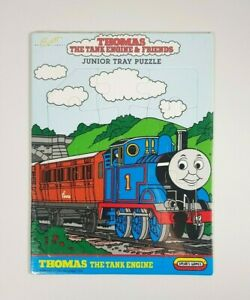 New - Vintage 90s Thomas The Tank Engine & Friends Junior Tray Puzzle 15 Pieces