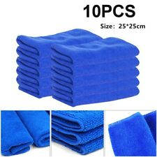 10Pcs/set Microfiber Cleaning Cloth No-Scratch Rag Car Polishing Detailing Towel