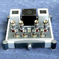 HiFi EL34 Vacuum Tube Power Amplifier Push-Pull Integrated Power Amp 40W×2 xr*