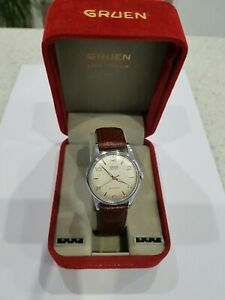 Gruen Precision Gents Watch, 1960s, Manual Wind, GWO, STUNNING!