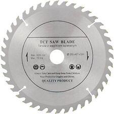 250mm x 32mm x 40 Teeth Top Quality Wood Cutting TCT Circular Saw Blade Disc