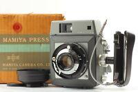 【 BOXED UNUSED *Read 】 Mamiya Press Camera w/ Sekor 90mm f/3.5 Lens from JAPAN