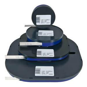 Fühlerlehrenband rostfrei 10mm Fühlerlehre Abstandslehre Federbandstahl Lehre