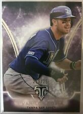 2015 Topps Triple Threads Evan Longoria Tampa Bay Rays Base Card Amethyst /354