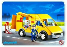 Playmobil 4401 DHL Delivery van & driver BRAND NEW see my other store City life