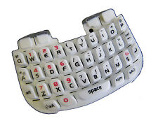 For Blackberry Curve 8520 Keypad Keyboard Qwerty Buttons Repair Part White UK