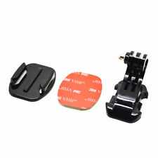 J-Hook Buckle + Flat Mount with 3M sticker for GoPro Hero 1 2 3 4 5 6 Brand New