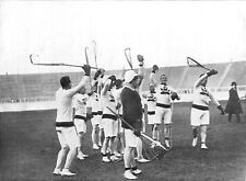 1908 Olympics Lacrosse Canada & UK Teams 5x4 Inch Reprint Photo