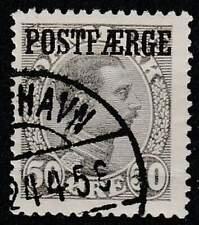 Denemarken gestempeld Paketpost 1922 used 9 - Koning Christian X