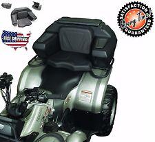 ATV Rear Seat Lounger Helmet Box Lockable Storage 2 Helmets Comfortable Backrest