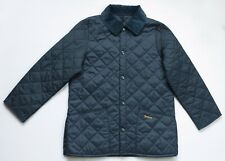 Barbour Liddesdale Jacket Quilted Jacket Youth Children size kids XL navy blue