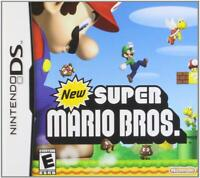New Super Mario Bros. (Nintendo DS, 2006) GAME ONLY, TESTED AND WORKING, CLASSIC
