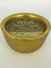 Price's - Established 1830 - Golden Bowl Candle - Pomegranate And Walnut Scent