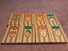 Young Folks Library - Lot of 8 Children's Books from the 1940's- Good Condition
