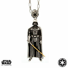 "Han Cholo STAR WARS Darth Vader Pendant Shadow Series Necklace 30"" NEW"