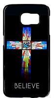For Samsung Note Models Christian Religious Cross Pattern Design Back Cover Case