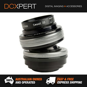 LENSBABY COMPOSER PRO II WITH SWEET 35 OPTIC LENS FOR CANON RF (LBCP235CRF)